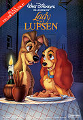 Lady and the Tramp Poster 70x100cm FN folded original
