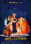 Lady and the Tramp 1955 poster Clyde Geronim