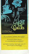Lady Sings the Blues 1973 Movie poster Diana Ross