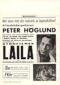Laila 1937 Movie poster Peter H�glund Rolf Husberg