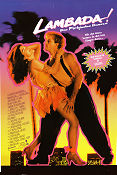 The Forbidden Dance 1990 Movie poster Laura Harring