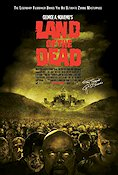 Land of the Dead 2005 Movie poster George A Romero