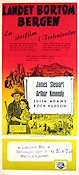 Bend of the River 1952 poster James Stewart