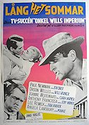 The Long Hot Summer 1958 Movie poster Paul Newman