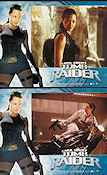 Lara Croft Tomb Raider 2001 lobby card set Angelina Jolie