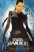 Lara Croft Tomb Raider 2001 poster Angelina Jolie Simon West