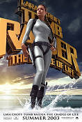Lara Croft Tomb Raider The Cradle of Life 2003 poster Angelina Jolie Jan de Bont