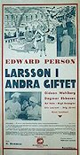 Larsson i andra giftet 1935 Movie poster Edvard Persson