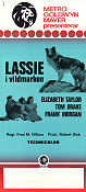 Courage of Lassie 1946 poster Elizabeth Taylor Fred M Wilcox