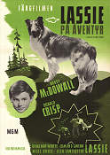 Lassie Come Home 1943 poster Roddy McDowall Fred M Wilcox