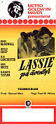 Lassie Come Home 1943 poster Roddy McDowall