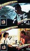 Last Action Hero 1993 lobby card set Arnold Schwarzenegger