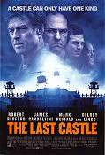 The Last Castle 2001 poster Robert Redford Rod Lurie