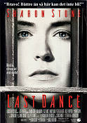 Last Dance 1996 Movie poster Sharon Stone