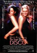 The Last Days of Disco 1998 poster Chloe Sevigny Whit Stillman