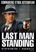 Last Man Standing 1996 Movie poster Bruce Willis Walter Hill