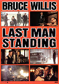 Last Man Standing 1996 poster Bruce Willis Walter Hill