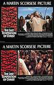 The Last Temptation of Christ 1988 lobby card set Willem Dafoe Martin Scorsese