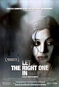 Let the Right One In 2008 Movie poster Lina Leandersson Tomas Alfredson