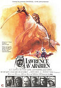 Lawrence of Arabia 1963 poster Alec Guinness David Lean