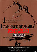 Lawrence of Arabia 1963 Movie poster Alec Guinness David Lean