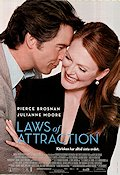 Laws of Attraction 2004 poster Pierce Brosnan Peter Howitt