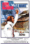 Le Mans 1971 Movie poster Steve McQueen Lee H Katzin