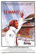 Le Mans 1971 Movie poster Steve McQueen
