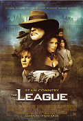 The League 2003 poster Sean Connery Stephen Norrington