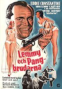 Lemmy pour les dames 1962 Movie poster Eddie Constantine