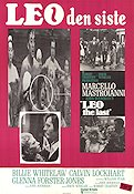 Leo the Last 1970 Movie poster Marcello Mastroianni John Boorman