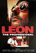 Leon 1996 Movie poster Jean Reno Luc Besson