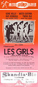 Les Girls 1957 poster Gene Kelly George Cukor