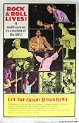 Let the Good Times Roll 1973 Movie poster Chuck Berry
