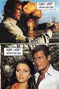 Live and Let Die 1973 lobby card set Roger Moore