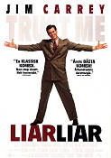Liar Liar 1996 Movie poster Jim Carrey