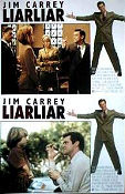 Liar Liar 1997 lobby card set Jim Carrey Tom Shadyac