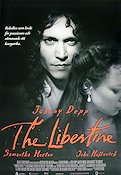The Libertine 2004 poster Johnny Depp