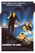 Licence to Kill 1989 poster Timothy Dalton