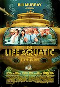 The Life Aquatic with Steve Zissou 2004 Movie poster Bill Murray Wes Anderson