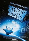 The Hitchhiker's Guide to the Galaxy 2005 poster Sam Rockwell
