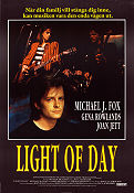 Light of Day 1987 Movie poster Michael J Fox