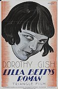 Betty of Greystone 1916 poster Dorothy Gish