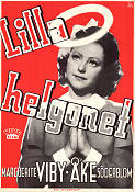 Lilla helgonet 1944 Movie poster Marguerite Viby