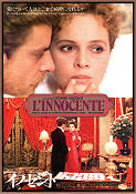 L'innocente 1976 Movie poster Giancarlo Giannini Luchino Visconti