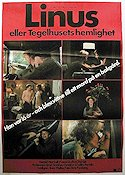 Linus 1979 Movie poster Harald Hamrell Vilgot Sj�man