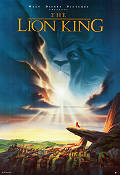 The Lion King 1995 Movie poster