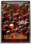 Little Buddha 1993 Movie poster Keanu Reeves Bernardo Bertolucci