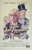 Little Lord Fauntleroy 1982 Movie poster Alec Guinness