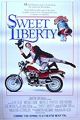 Sweet Liberty 1985 Movie poster Alan Alda